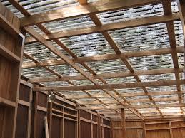 plastic roof u0026 clear barn roof