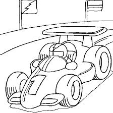Coloriage de formule 1  Coloriages de véhicules à colorier en ligne