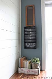 Paper Organizer For Wall Trash To Treasure Upcycled Metal Paper Organizer Meadow Lake Road