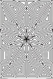 geometric coloring sheets free coloring sheet