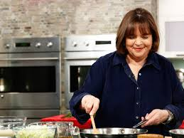 ina garten decorating a flag cake is downright mesmerizing food