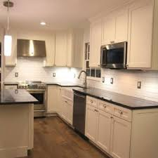 london blue pearl granite kitchen contemporary with cabinets black