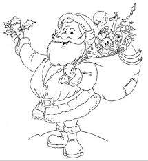 santa coloring sheets free happy santa claus coloring pages