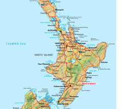 Hastings England Map by Geography Blog New Zealand Map North Island