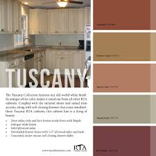 color palette to go with our tuscany kitchen cabinet line color