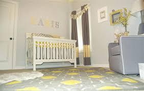 White And Grey Nursery Curtains Grey And Yellow Nursery Curtains Katecaudillo Me