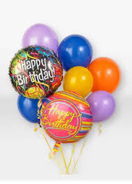 balloons birthday delivery central florist birthday balloon bouquet merrillville in 46410