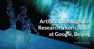 research intern artificial intelligence research intern 2018 at beijing