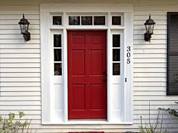 our red door sherwin williams wild current in satin in love with
