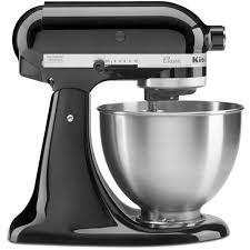 Mini Kitchen Aid Mixer by Kitchenaid Classic Series 4 5 Quart Tilt Head Stand Mixer Onyx