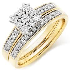 gold diamond rings 18ct gold diamond ring set 0100724 beaverbrooks the jewellers