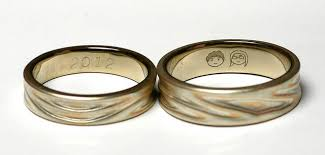 engraved wedding bands roasted blend unique wedding rings engraving ideas