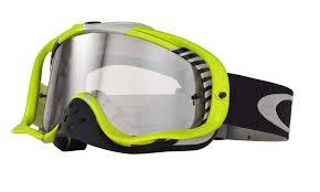 oakley goggles motocross oakley crowbar mx bio hazard green white clear buy cheap fc moto