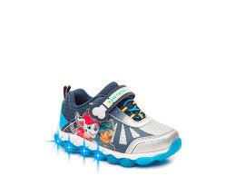 paw patrol light up sneakers nickelodeon paw patrol light up sneaker kids shoes dsw