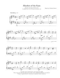 rhythm of the christine brown piano