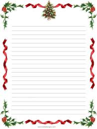 free printable writing paper to santa holiday stationery paper click on an image to view larger then