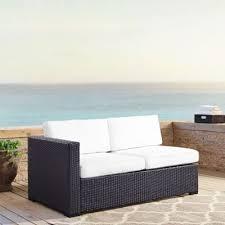 White Resin Wicker Loveseat Buy Wicker Loveseat Cushions From Bed Bath U0026 Beyond
