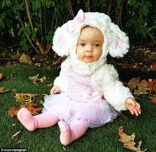 Lamb Halloween Costume Coco Austin U0027s Lamb Chanel Chrissy Teigen U0027s Hula