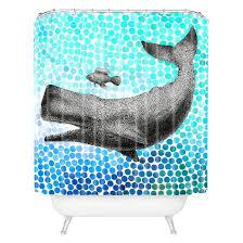 new friends 3 shower curtain aqua deny designs target