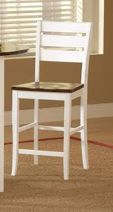 counter dining chairs ridgewood white u0026 cherry 3pc counter dining set my furniture place