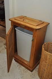 kitchen trash can ideas black wooden kitchen trash bin best kitchen ideas 2017