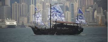 the story of hong kong u0027s newest old junk built by hand the
