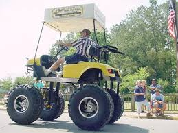 Golf Cart Off Road Tires 12 Cool And Unusual Golf Carts