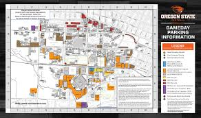 map of oregon state day parking finance and administration oregon state