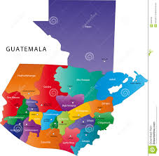 map of guatemala cities guatemala map stock vector image of detail contour central