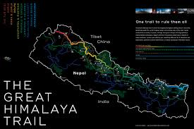 Himalayas On World Map by East 2 West Nepal 2013