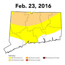 Us Drought Map Southern Fairfield County Now Out Of Drought Status Connecticut Post