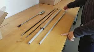 Flag Pole Express How To Set Up A Pole For A Teardrop Flag Pole Assembly Youtube