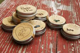 country wedding favors wedding favors custom lip balm wedding favor organic lip