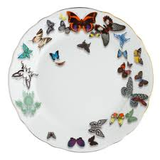 butterfly platter buy christian lacroix butterfly parade dinner plate amara