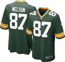 green bay packers types of nfl jerseys dick s sporting goods product image nike men s home game jersey green bay packers jordy nelson 87