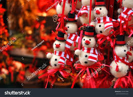snowman decorations market innsbruck stock