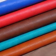 tissu d ameublement pour canapé 1 3 mm épais en relief grain pu en cuir en cuir tissu pour canapé
