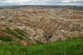 Bad Lands Badlands South Dakota Ludwig Witzani