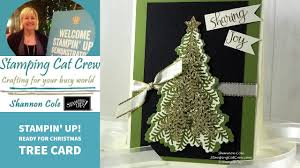 ready for christmas tree card youtube