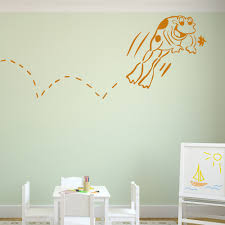 7 frog wall decals hopping frog cartoon childrens nursery baby