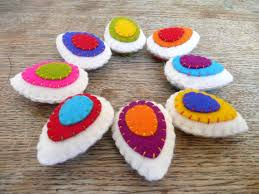 felt easter eggs colorful felt easter eggs pictures photos and images for