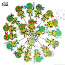 aliexpress com buy 72pcs teenage mutant ninja turtles mickey