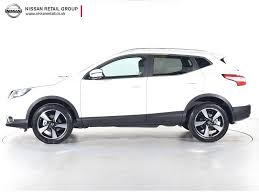nissan qashqai deals uk nearly new nissan for sale qashqai 1 6 dci n connecta 4wd white