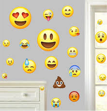 emoji pack of 22 wall vinyl stickers emoticon funny faces emoji pack of 22 wall art vinyl printed stickers emoticon funny faces decals