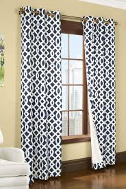 Navy Blue Curtains Curtain Navy Blue And White Chevron Curtains Window Treatments
