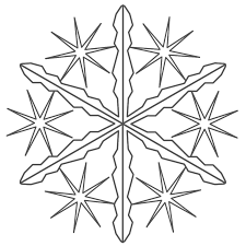 snowflake coloring pages coloring pages 13556