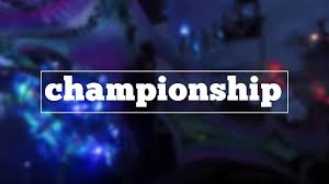 how do you spell championship youtube