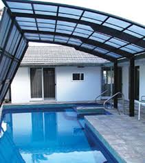 Swimming Pool Canopy by Hi Tech Modern Pool Shade Covers Jet Of Louisiana