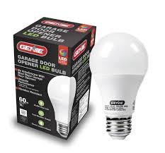 garage opener light bulb genie universal garage door opener led light bulb at menards