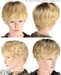 sims 3 custom content hair kisaragi hair for the sims3 kewai dou